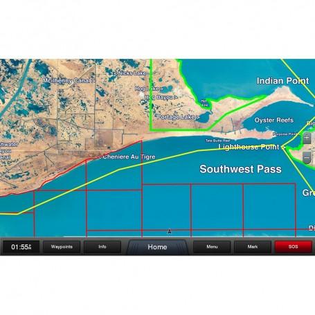 Garmin Standard Mapping - Louisiana West Premium microSD-SD Card