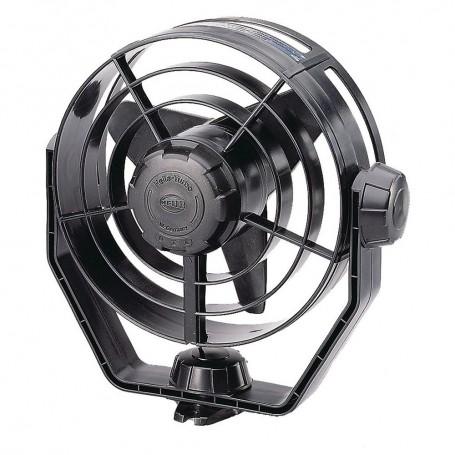 Hella Marine 2-Speed Turbo Fan - 24V - Black