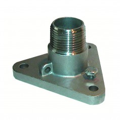 GROCO 1- -316 Stainless Steel NPS to NPT Flange Adapter