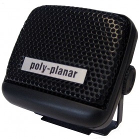 Poly-Planar VHF Extension Speaker - 8W Surface Mount - -Single- Black
