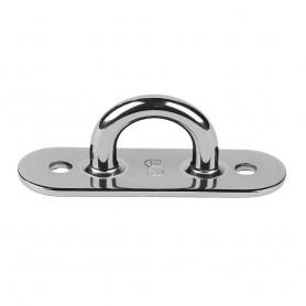 Schaefer Stainless Steel Welded Pad Eye - 3-L x 1-W