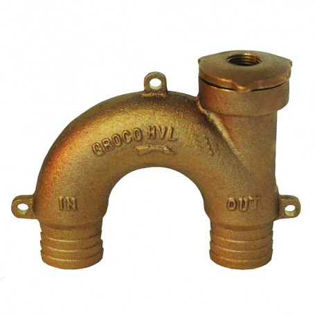 GROCO Bronze Vented Loop - 1-2- Hose