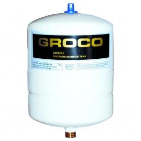 GROCO Pressure Storage Tank - 1-4 Gallon Drawdown