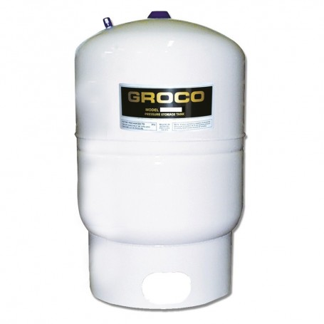 GROCO Pressure Storage Tank w-Pump Stand - 1-7 Gallon Drawdown
