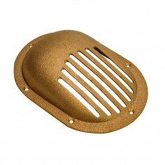 GROCO Bronze Clam Shell Style Hull Strainer w-Mount Ring f-Up To 1-1-2- Thru Hull