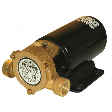 GROCO Heavy Duty Positive Displacement Vane Pump - 12V