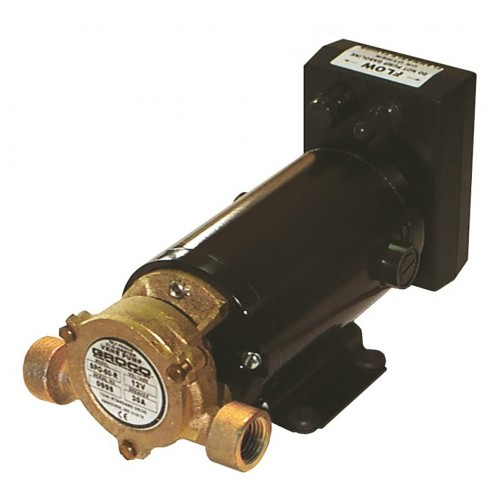 GROCO Heavy Duty Positive Displacement Reversing Vane Pump - 12V
