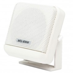 Poly-Planar VHF Extension Speaker - 10W Surface Mount - -Single- White