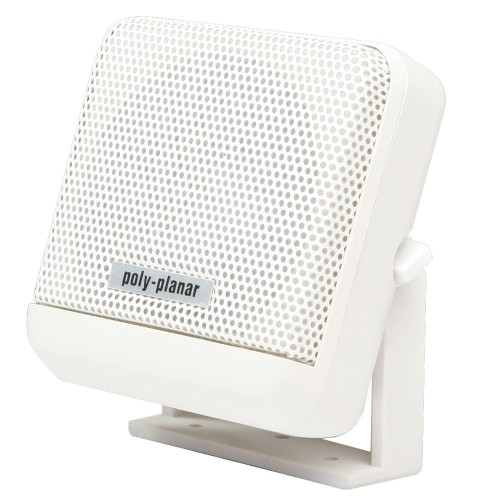 PolyPlanar VHF Extension Speaker -10W Surface Mount - -Single- White