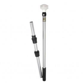 Perko Omega Series LED Universal Pole Light w-Fold In Half Pole