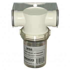 GROCO 1-2- Fresh Water Strainer w-Plastic Basket