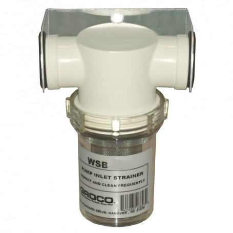 GROCO 1- Fresh Water Strainer w-Plastic Basket