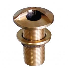 GROCO 1- Bronze High Speed Thru-Hull Fitting w-Nut