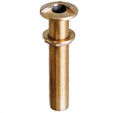 GROCO 3-4- Bronze Extra Long High Speed Thru-Hull Fitting w-Nut