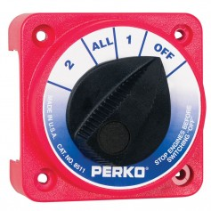 Perko Compact Medium Duty Battery Selector Switch w-o Key Lock