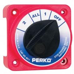 Perko Compact Medium Duty Battery Selector Switch w-o Key Lock