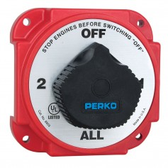 Perko Heavy Duty Battery Selector Switch w-Alternator Field Disconnect