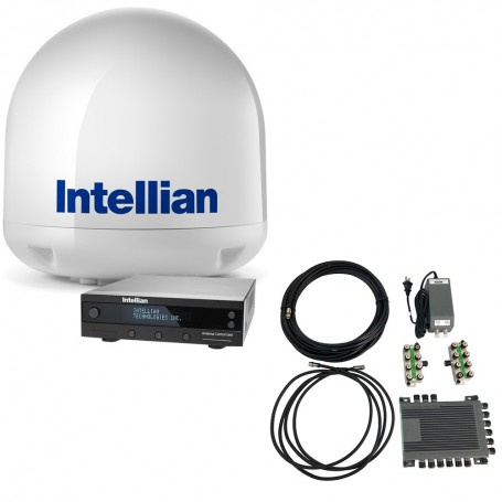 Intellian i4 All-Americas TV Antenna System - SWM16 Kit