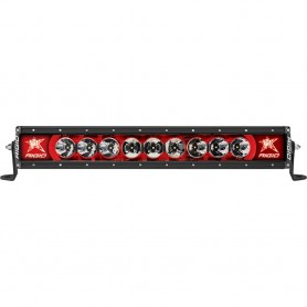 RIGID Industries Radiance- 20- Red Backlight Black Housing