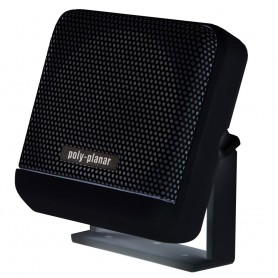 Poly-Planar VHF Extension Speaker - 10W Surface Mount - -Single- Black
