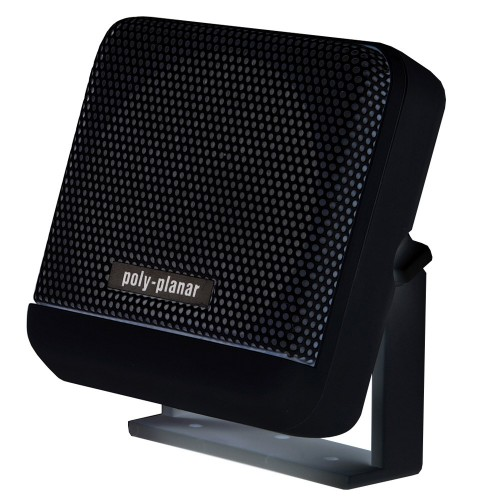 PolyPlanar VHF Extension Speaker - 10W Surface Mount - -Single- Black