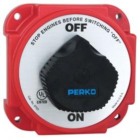 Perko 9703DP Heavy Duty Battery Disconnect Switch w- Alternator Field Disconnect