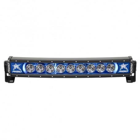 RIGID Industries Radiance- 20- Curved Blue Backlight Black Housing