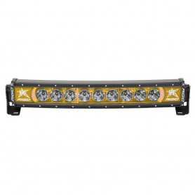 RIGID Industries Radiance- 20- Curved Amber Backlight Black Housing