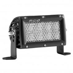 RIGID Industries E-Series PRO 4- Spot-Diffused - Black
