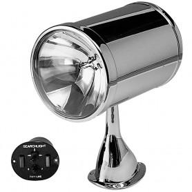Jabsco 7- Chrome Plated Spot Light - 12v