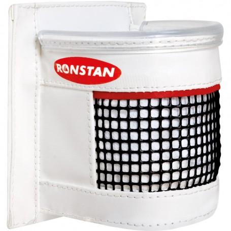 Ronstan Drink Holder - White PVC w-Mesh