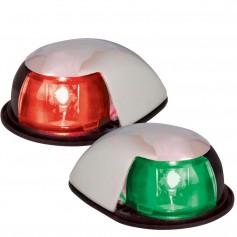 Perko LED Horizontal Mount Side Light - Red-Green