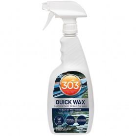 303 Marine Quick Wax w-Trigger Sprayer - 32oz