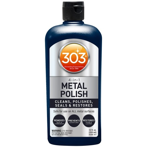 303 4-In-1 Metal Polish - 12oz