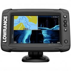 Lowrance Elite-7 Ti Combo w-Active Imaging 3-in-1 Transom Mount Transducer US-Canada Nav- Chart