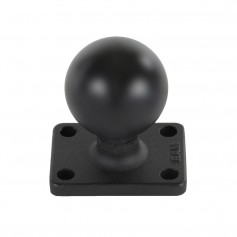 RAM Mount 1-5- x 2- Rectangle Base w-1-5- Ball
