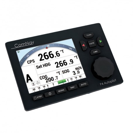ComNav P4 Color Pack - Fluxgate Compass Rotary Feedback f-Commercial Boats -Deck Mount Bracket Optional