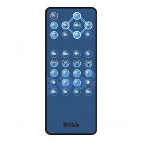 Boss Audio Remote Control f-MR762BRGB Bluetooth Stereos