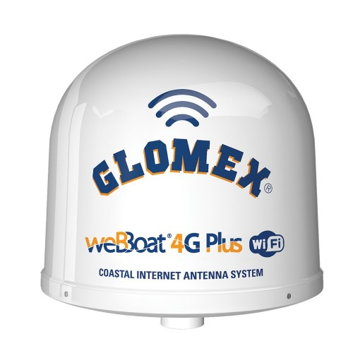 Glomex weBBoat 4G Plus 3G-4G-Wi-Fi Coastal Internet Antenna - North America Canada Only