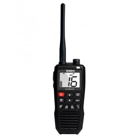 Uniden Atlantis 275 Floating Handheld VHF Marine Radio