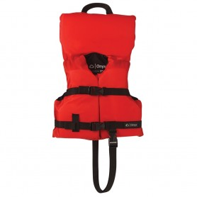 Onyx Nylon General Purpose Life Jacket - Infant-Child Under 50lbs - Red