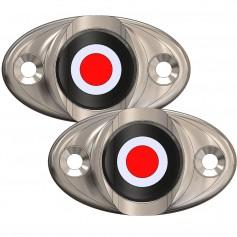 TACO Surface Mount LED Side Navigation Light Set - 1-3-4-