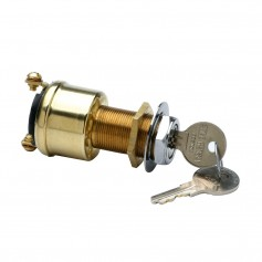 Cole Hersee 2 Position Brass Ignition Switch