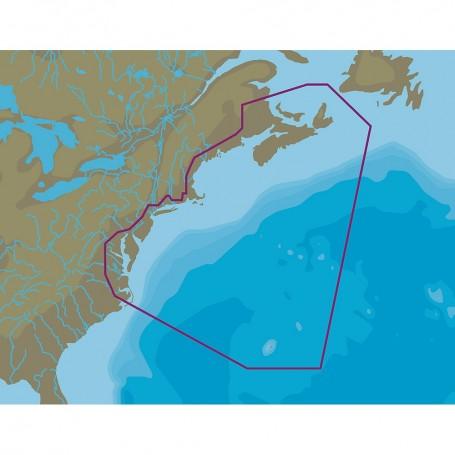 C-MAP 4D NA-D062 Nova Scotia to Chesapeake Bay - microSD-SD