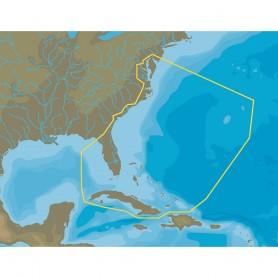 C-MAP 4D NA-063 Chesapeake Bay to Cuba - microSD-SD