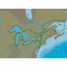 C-MAP 4D NA-D061 Great Lakes St Lawrence Seaway -microSD-SD