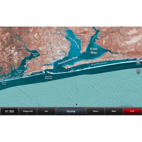 Garmin Standard Mapping - Emerald Coast Classic microSD-SD Card
