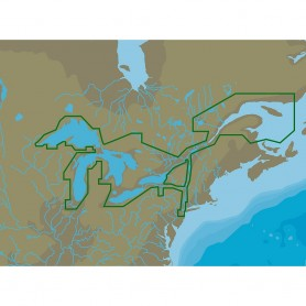 C-MAP NA-Y061 Great Lakes St Lawrence Seaway - microSD-SD