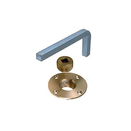 Perko Garboard Drain Plus w-Steel Wrench