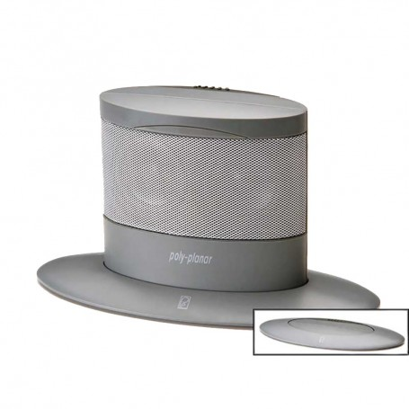 Poly-Planar Oval Waterproof Pop-Up Spa Speaker - Gray